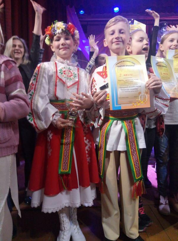 Успех радунских танцоров