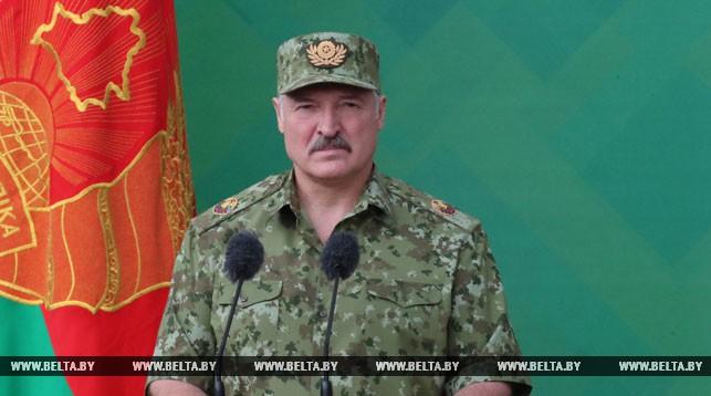 Лукашенко: белорусские пограничники стоят на страже региональной и международной безопасности