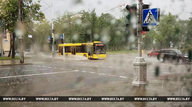 Прохладная дождливая погода ожидается в Беларуси в выходные