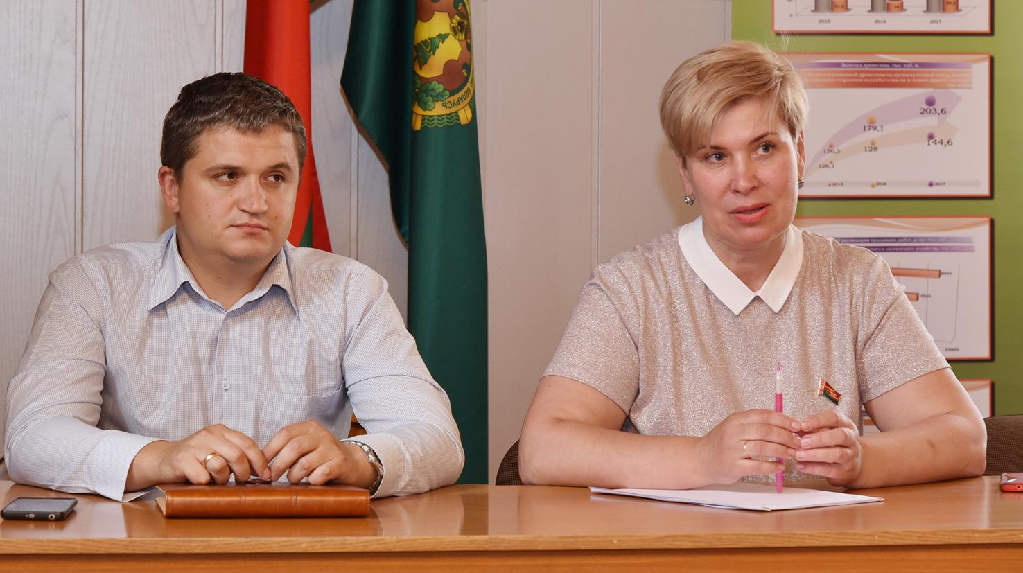 Член Совета Республики Беларусь Романия Скоморошко провела личный прием граждан в Ивье
