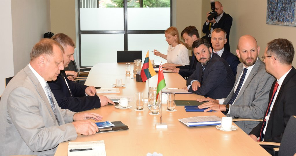 Представители МИД Беларуси и Литвы обсудили вопросы строительства БелАЭС