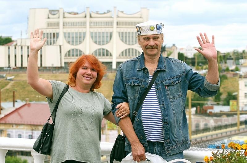 Без визы и на караванере. В Гродно встретили 30-тысячного безвизового туриста