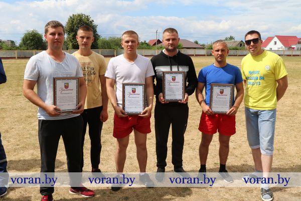 В Вороново прошли соревнования санитарных и пожарных добровольных дружин (Фото. Будет дополнено)