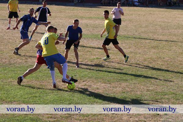 Футбольные баталии в Вороново (Фото, Видео)