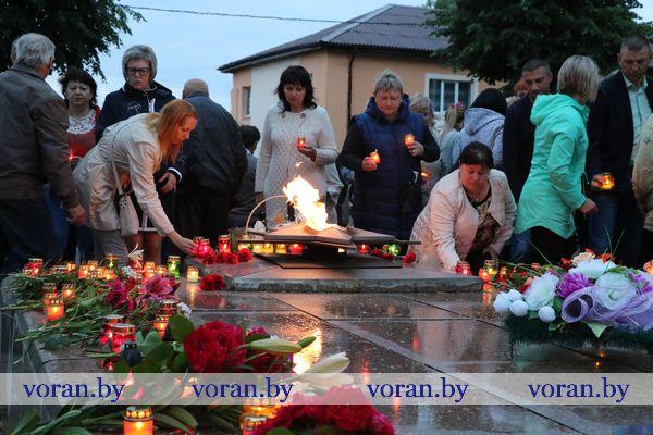 22 июня: помним и скорбим. Шествие памяти и митинг-реквием прошли в Вороново (Фото, Видео)