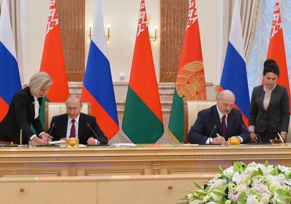 Тема недели: Заседание ВГС Союзного государства в Минске
