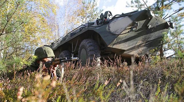 Оборону военных и гособъектов отрабатывают под Гродно