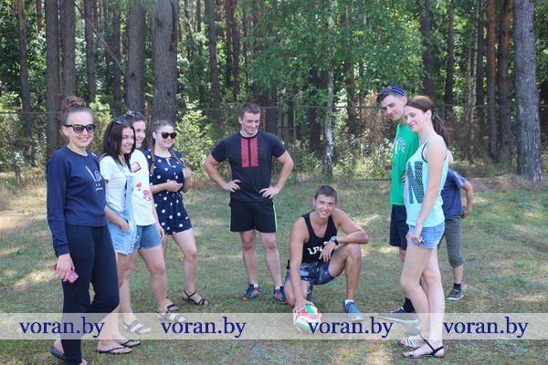 На Вороновщине — время студотряда