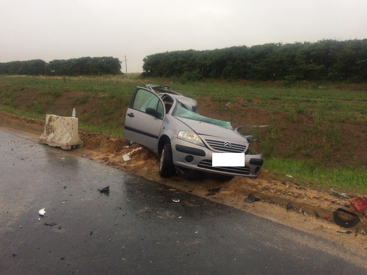 ДТП с летальным исходом произошло сегодня в Лидском районе