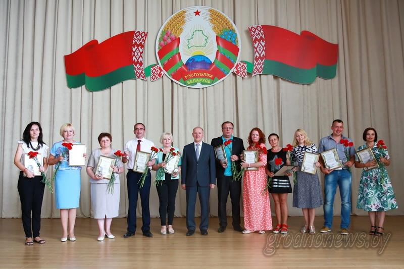 Лучшим журналистам Гроднещины вручили главный профессиональный приз – «Медиасферу»