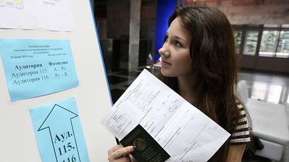 Больше всего абитуриентов зарегистрировалось на ЦТ по русскому языку и математике