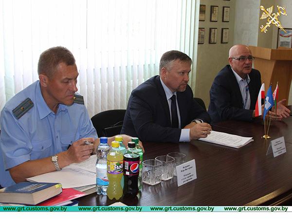 В Лиде состоялось выездное заседание общественно-консультативного совета при Гродненской региональной таможне