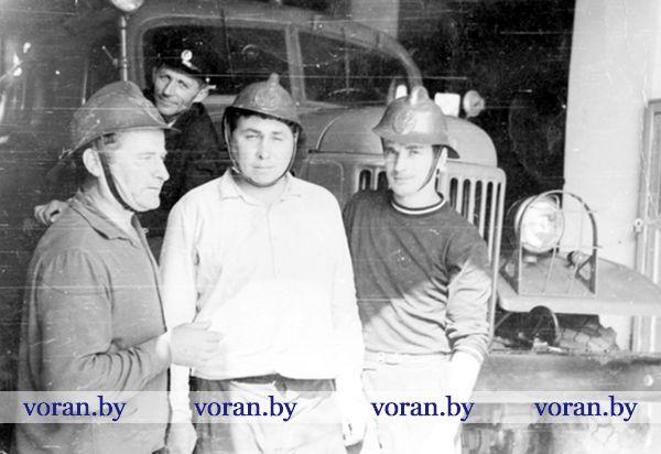 Четыре поколения в пожарной службе Вороновщины