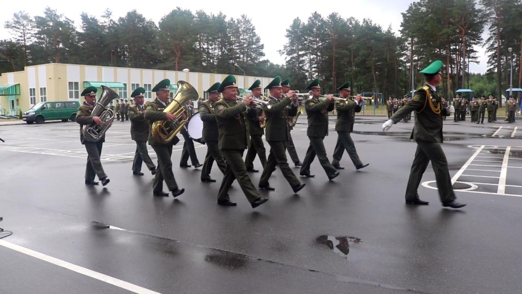Военный оркестр Лидского погранотряда — среди лучших