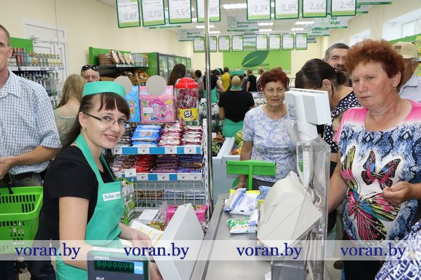 Большое обновление магазина «Родны кут» в Радуни (Фото)