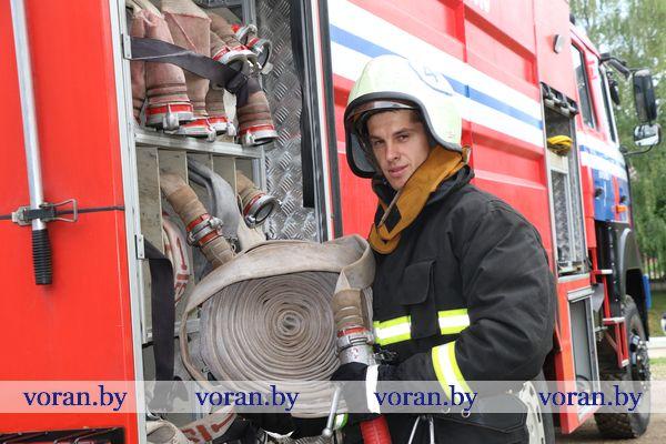 Первый бой молодого спасателя Вороновщины