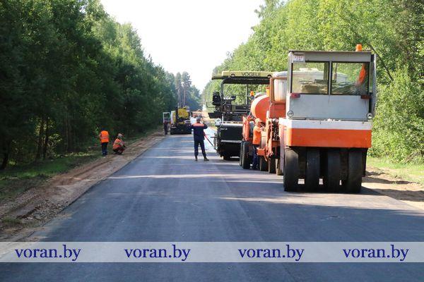 В 225 тысяч рублей обходится один километр дороги Радунь-Василишки