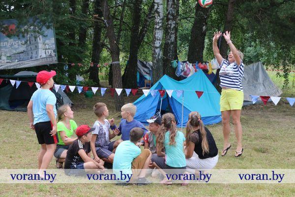 Три детских лагеря патриотической направленности работают в Вороновском районе (Фото, Видео)
