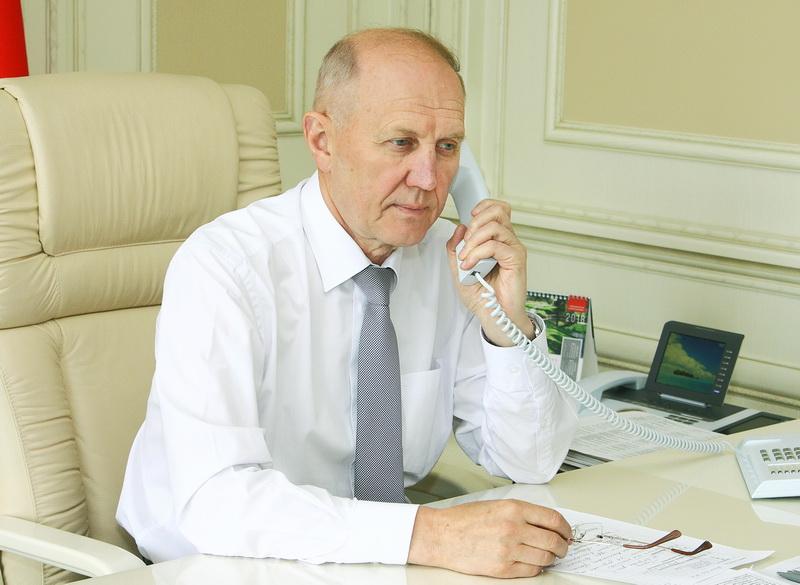 Владимир Кравцов: «Прямые линии помогают оперативно решать вопросы»