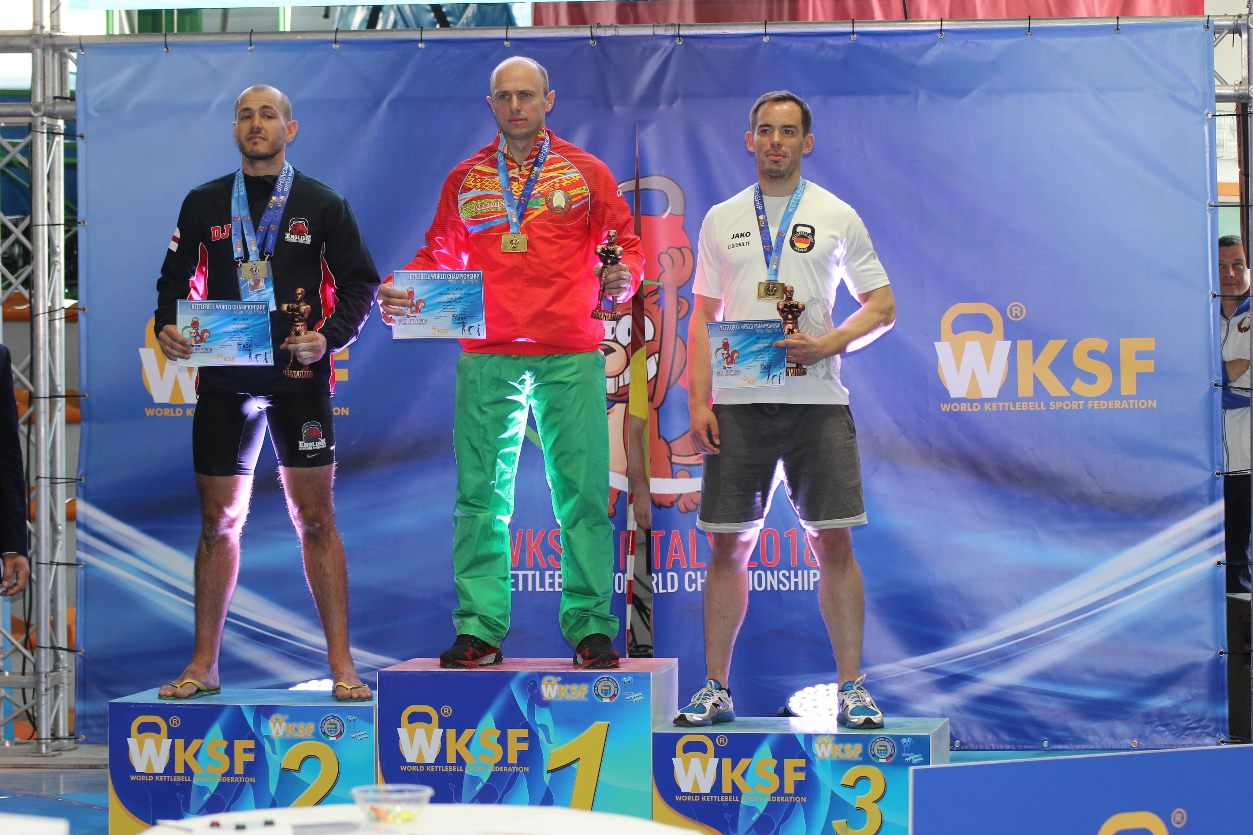 Спортсмен из Гродно стал сильнейшим гиревиком планеты