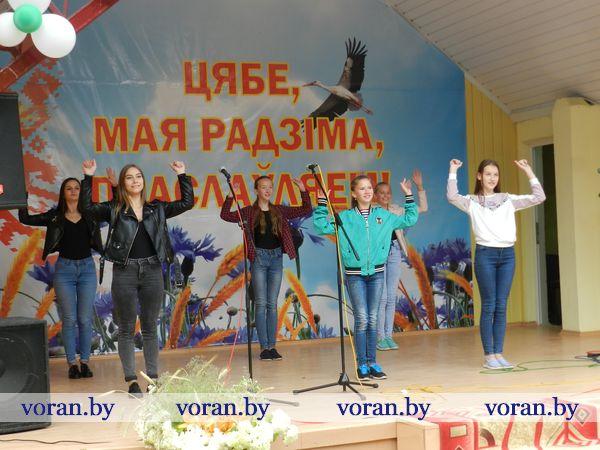 «Беларусь в моем сердце!» Так называлась концертная программа исполнителей эстрадного творчества Вороновщины