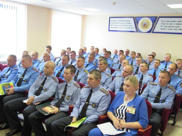 Итоги работы за первое полугодие подведены в Вороновском отделе Департамента охраны МВД Республики Беларусь