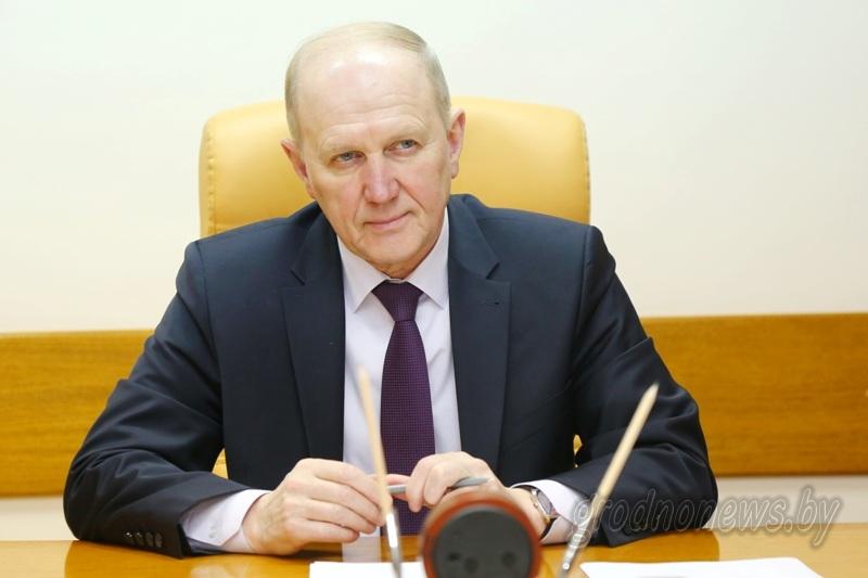 Председатель областного исполнительного комитета Владимир Кравцов провел прием граждан