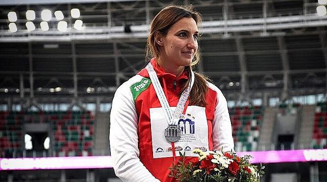 Наша землячка Алена Дубицкая — серебряный призер Бриллиантовой лиги