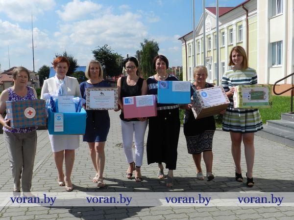 Общественные объединения Вороновщины активно включились в благотворительную акцию «Соберем детей в школу»