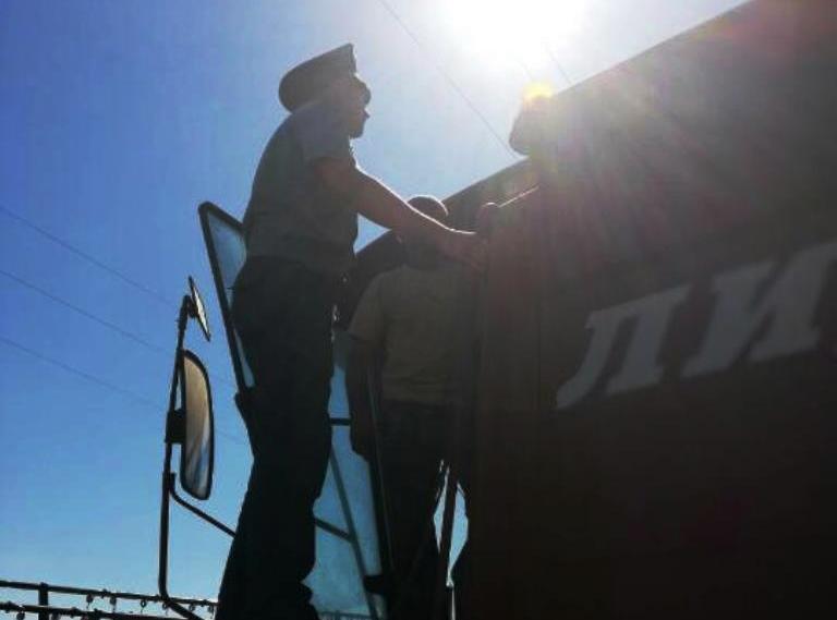 На Гродненщине милиция продолжает следить за ходом уборочной кампании