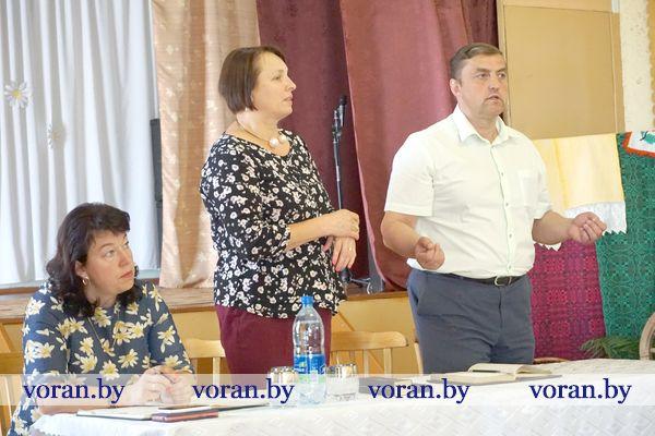 На минувшей неделе на территории своего избирательного округа работал депутат Палаты представителей Александр Маркевич