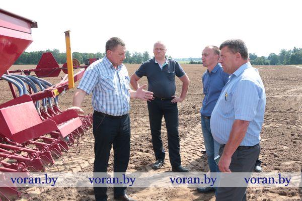 В Вороновском районе прошел семинар-совещание главных агрономов сельхозпредприятий