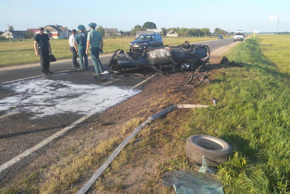 В Вороновском районе произошла авария