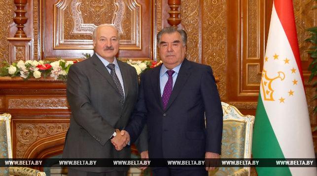 Лукашенко подтверждает готовность Беларуси участвовать в плане индустриализации Таджикистана