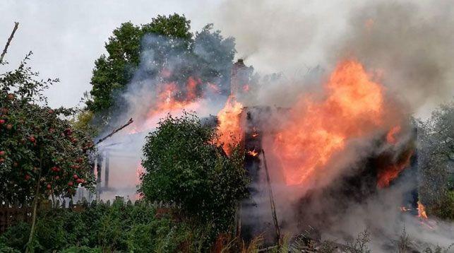 Короткое замыкание телевизоров привело к двум пожарам в Гродненской области