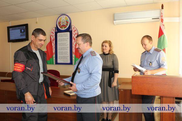 Лучшие помощники Вороновской милиции — энергетики