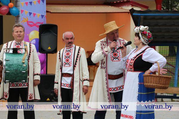 Фрагменты «Карнавала весялосці» в Вороново (Видео)