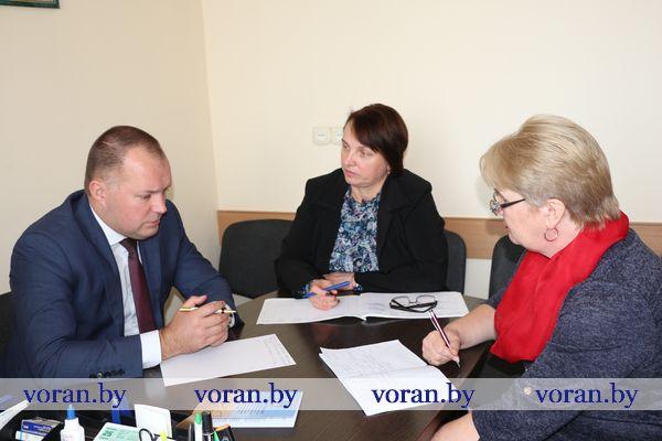 27 сентября в Вороново прошел профсоюзный прием граждан