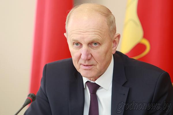 В сфере особого внимания: предстоящий юбилей области, участие в Форуме регионов России и Беларуси