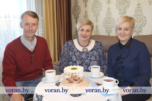 Творческое трио Вороновских