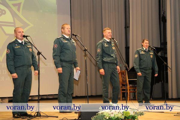 В Вороново проходит фестиваль творчества работников МЧС (+фото, видео)