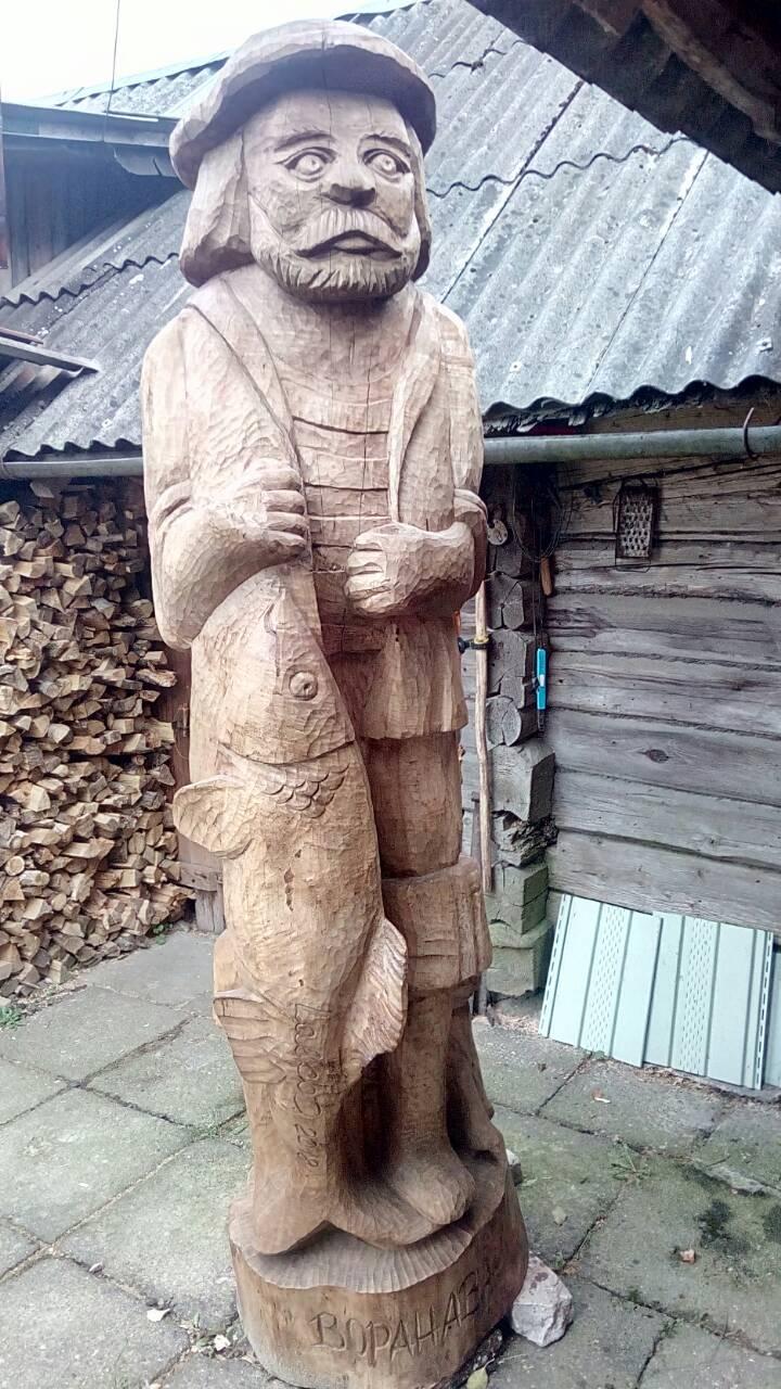 В подарок ивьевчанам — «Рыболов» из Вороново