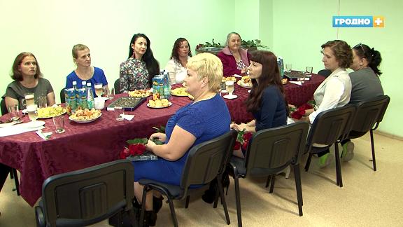Профсоюзы Гродненской области поздравили многодетных мам