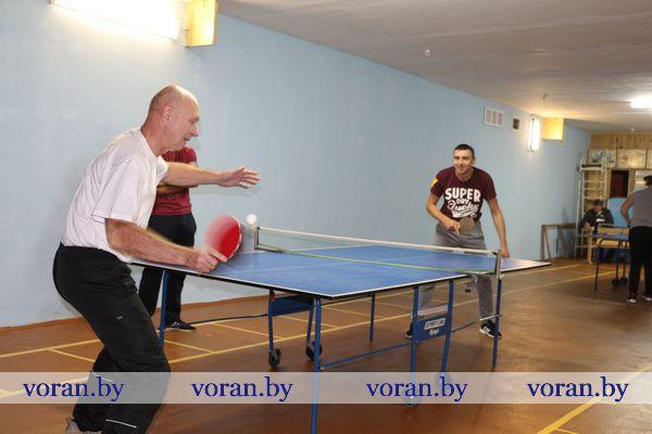 Вороновские энергетики выиграли первенство района по теннису