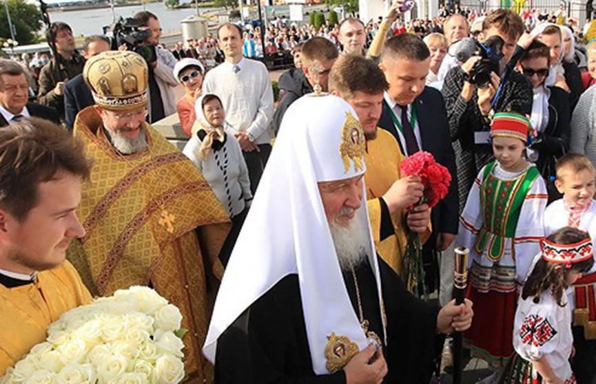 Патриарх Московский и Всея Руси Кирилл сегодня приедет в Беларусь