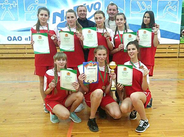 Команда Вороновщины вернулась призером спартакиады «Колосок»