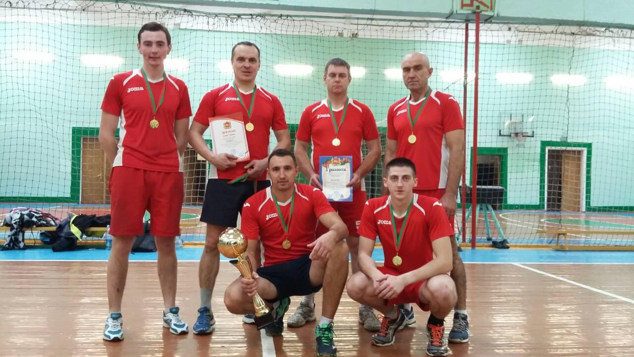 Команда Вороновщины выиграла областные соревнования по волейболу «Золотой колос»