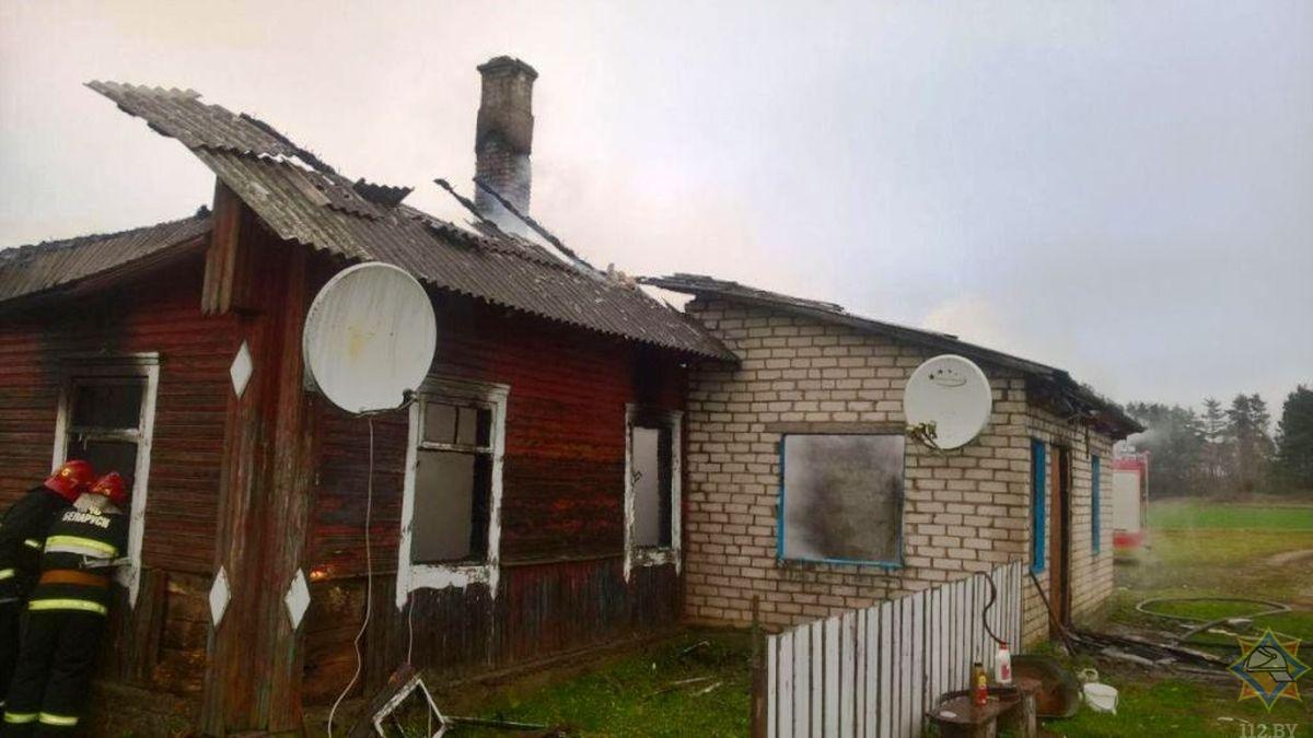 В Вороновском районе на пожаре погиб человек (Дополнено)