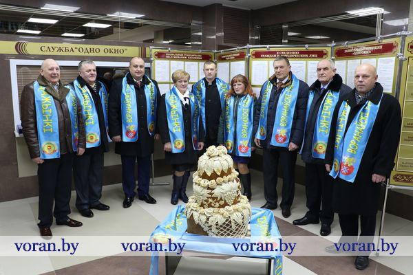 Вороновчане на Дожинках в Ивье (Фото, +Видео)