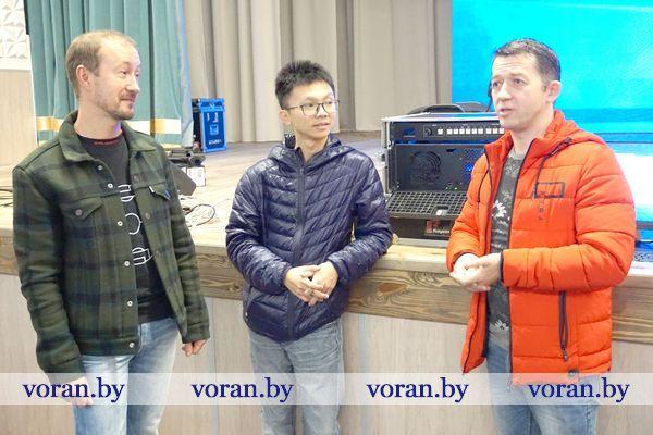 В Вороново работал специалист из Китая